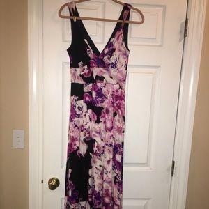 Never worn petite maxi dress!